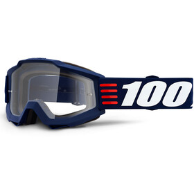 100% Accuri Anti Fog Clear Goggles art deco
